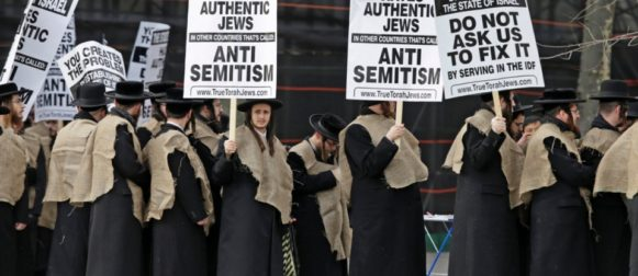 144,000 of Revelation, Haredi חרדים , Synagogue of Satan and Zionism