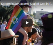 Spiritual Sodom is Jerusalem, Seal of God in foreheads of 144,000