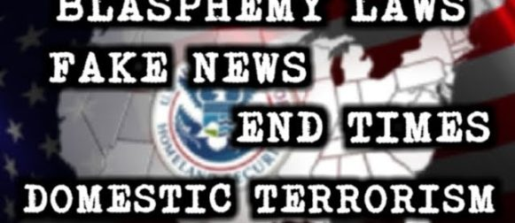 END TIMES , FAKE NEWS , BLASPHEMY LAW IN THE USA